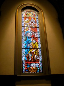 Stained Glass window for Saint Joseph