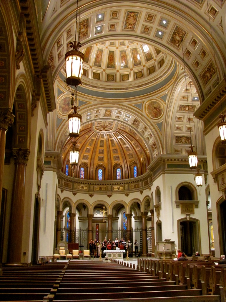 Interior of The Cathedral of the Sacred Heart