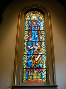 Stained Glass of Saint Joseph
