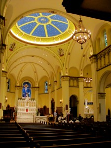 Interior Chapel of the Immaculate Conception