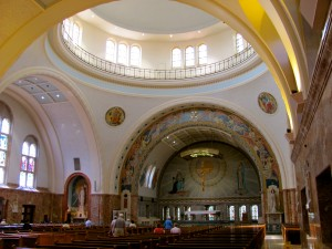Interior of the National Shrine