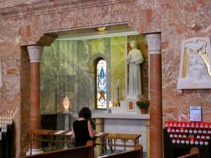 Seton Altar & Relics