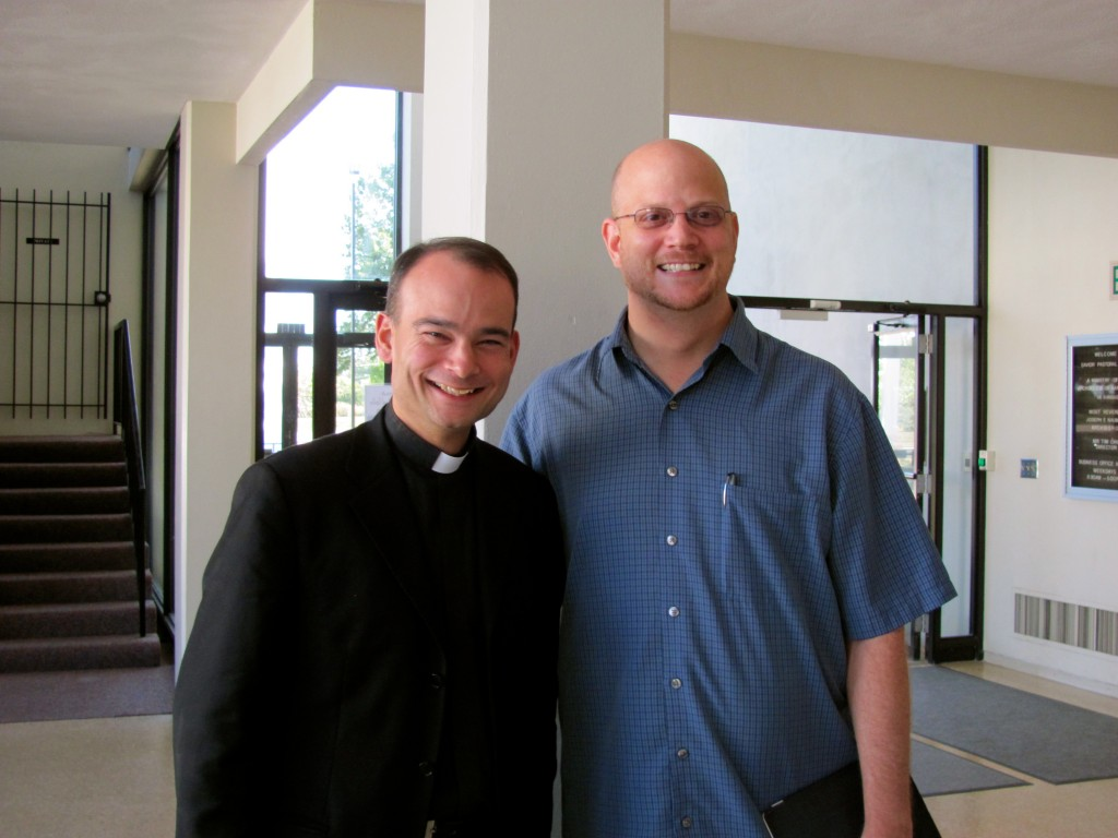 Father Roderick Vonhogen & Greg Willits