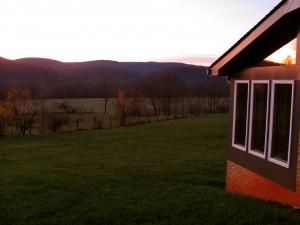 Beautiful Mountains & Pastures surround the Abbey and Retreat Center