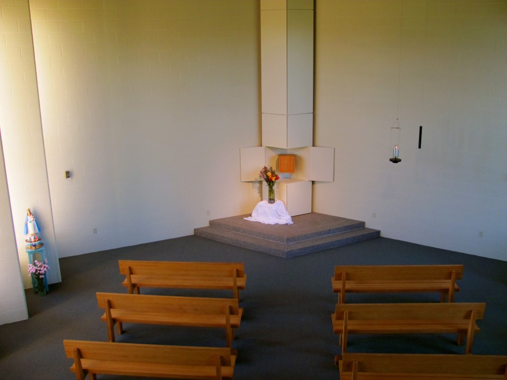 Eucharist Chapel at Retreat Center