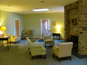 Living Room at Retreat Center