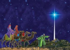 Three Kings and Star of David