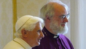Pope Benedict XVI & Bishop Rowan Williams
