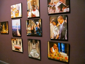 Photo exhibit at National Cathedral