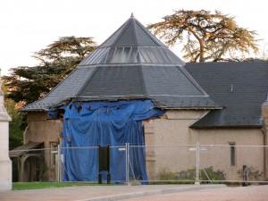 Eathquake damaged Herb Cottage