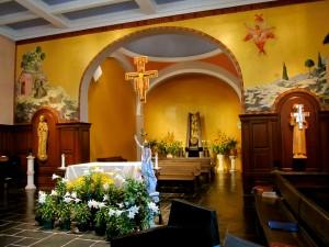 Altar at St. Anthony Shrine Chapel