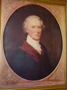 Portrait of Charles Carroll III at Folly Quarter House