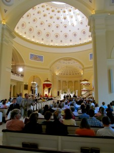 Interior-Basilica of the National Shrine of the Assumption of the Blessed Virgin Mary