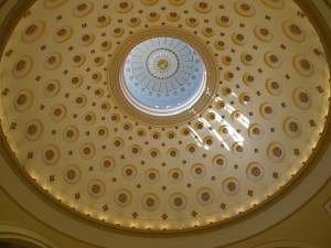 Restored Dome (Bicentennial Restoration--2006)