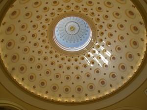 Restored Dome (Bicentennial Restoration--2006)
