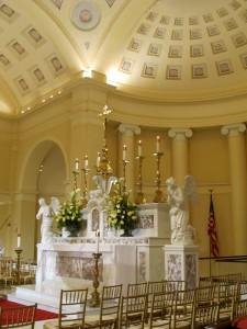 Altar in Batimore Basilica