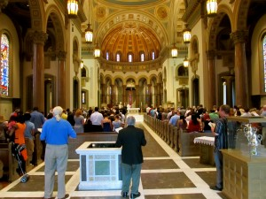 Mass for Fortnight for Freedom with Bishop Dilorenzo