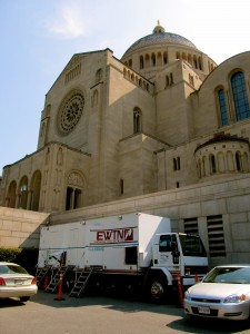 "EWTN's Mobile TV rig named ""Gabriel"""