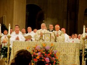 Cardinal Donald Wuerl, celebrant of Mass