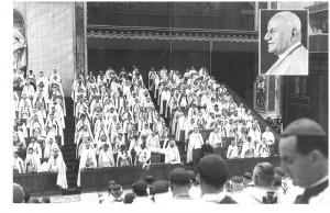 Photo of Vatican II Bishops with Bishop Remi De Roo