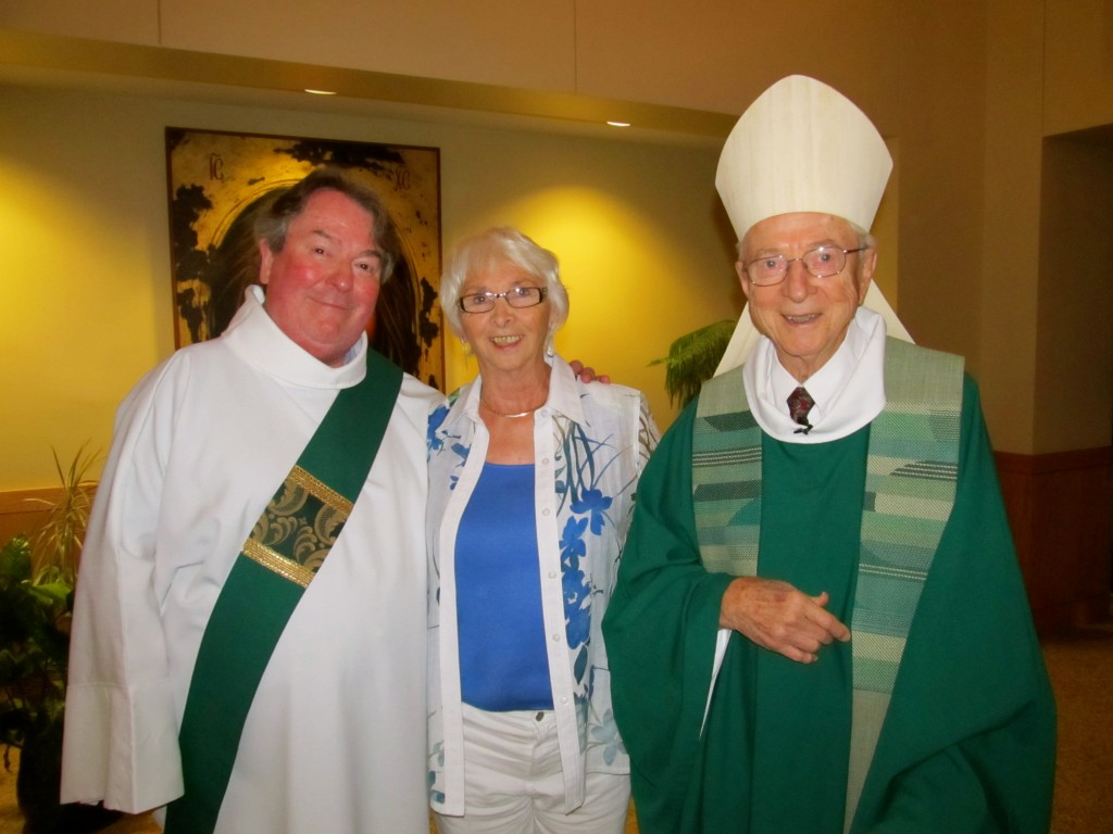 Deacon Chris Morash, Pearl Gervais, Bishop Remi De Roo