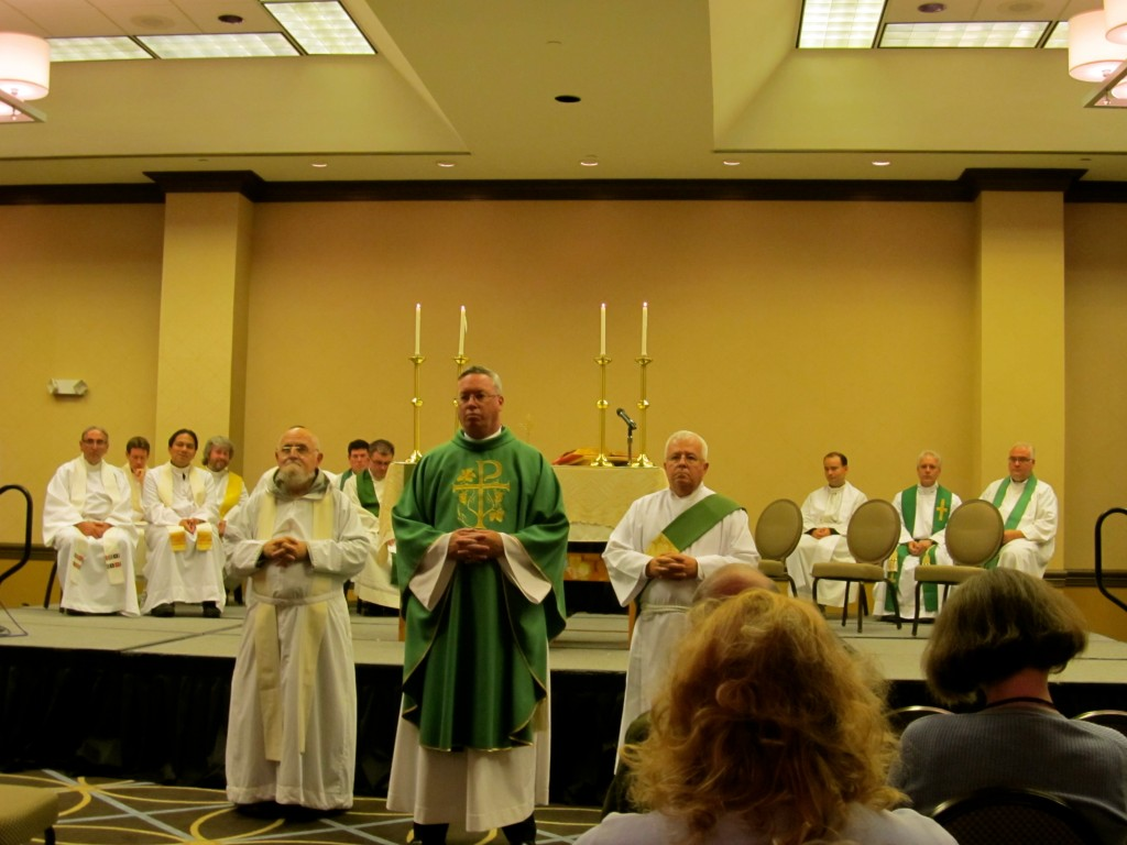 Mass with celebrant Bishop Christopher Coyne