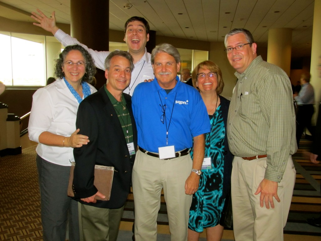Maria Johnson, Dr. Paul Camarata, Capt. Jeff Nielsen, Pat Gohn, Steve Nelson, and Pat Padley (back)