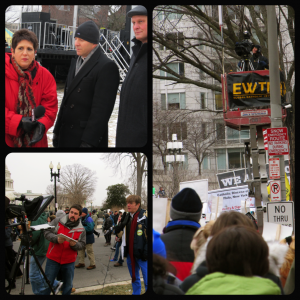 Media at March for Life