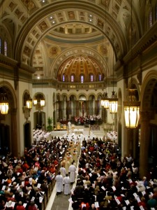 Chrism Mass at Cathedral of the Sacred Heart