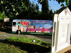 Nuns on the Bus in Charlottesville