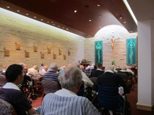 Mass at Holy Cross House