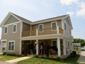 Mayo & Fuentes Families Homes (New duplex home built by Habitat for Humanity)