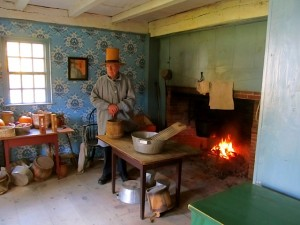 Historian showing the way life was for the poor in early America.
