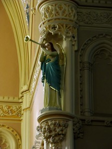 Angel at St. Anne Shrine for mothers