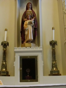 St. Anne Shrine with relic