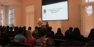 Laura Ingraham speaking at UVA Law School