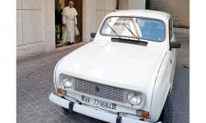 Pope Francis' Renualt 4
