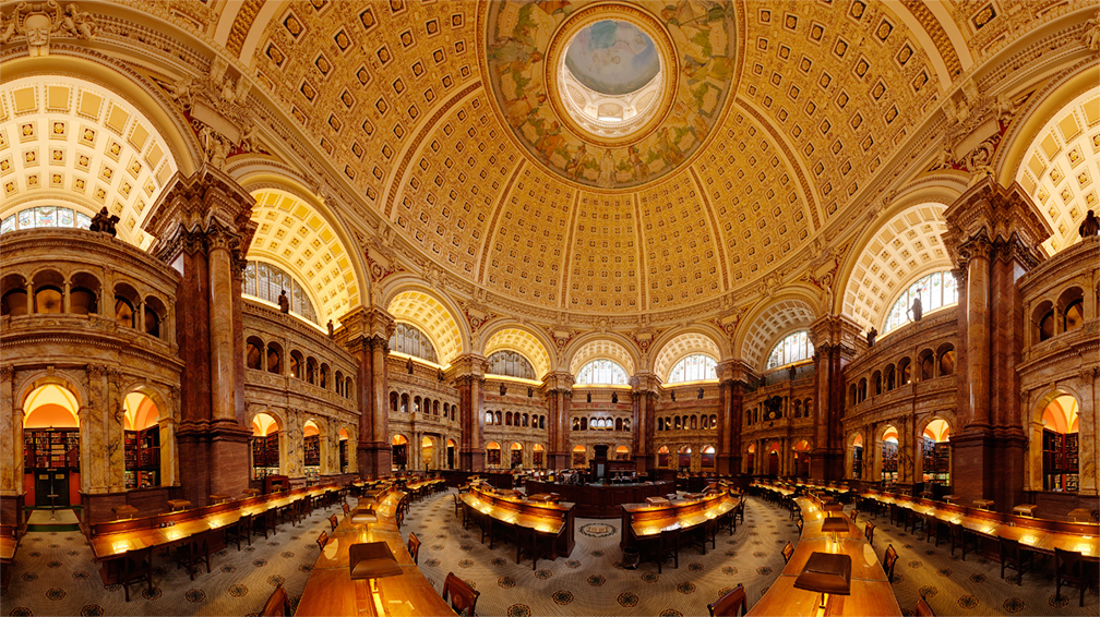 Main Reading Room (photo: Matthew Borkoski)