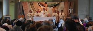 Mass on Feast of Saint John Paul II at JPII National Shrine