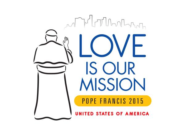 Official logo for Pope Francis' visit to the World Meeting of Families in Philadelphia this September