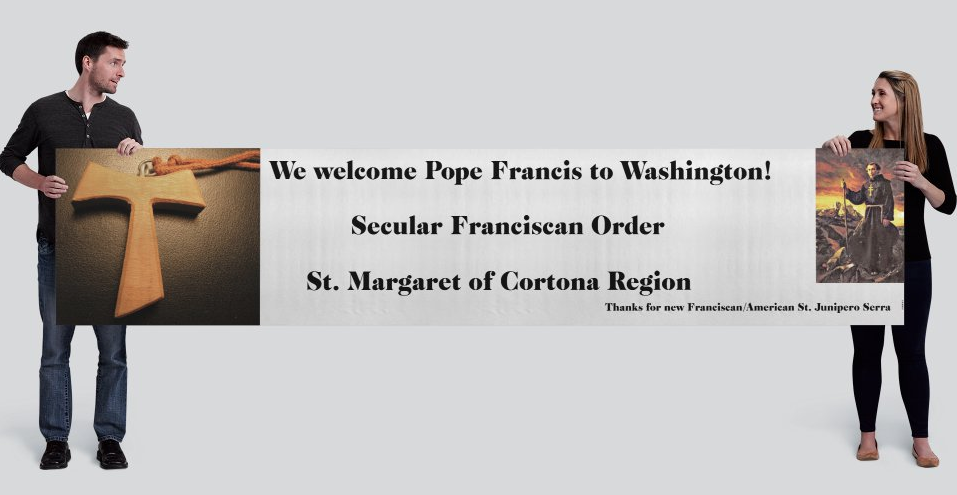 PopeFrancisWelcome