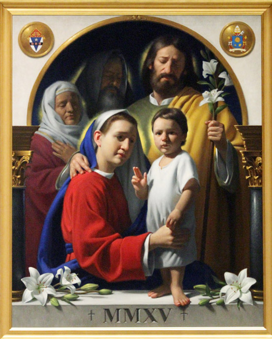 Icon of Holy Family from World Meeting of Families in Philadelphia
