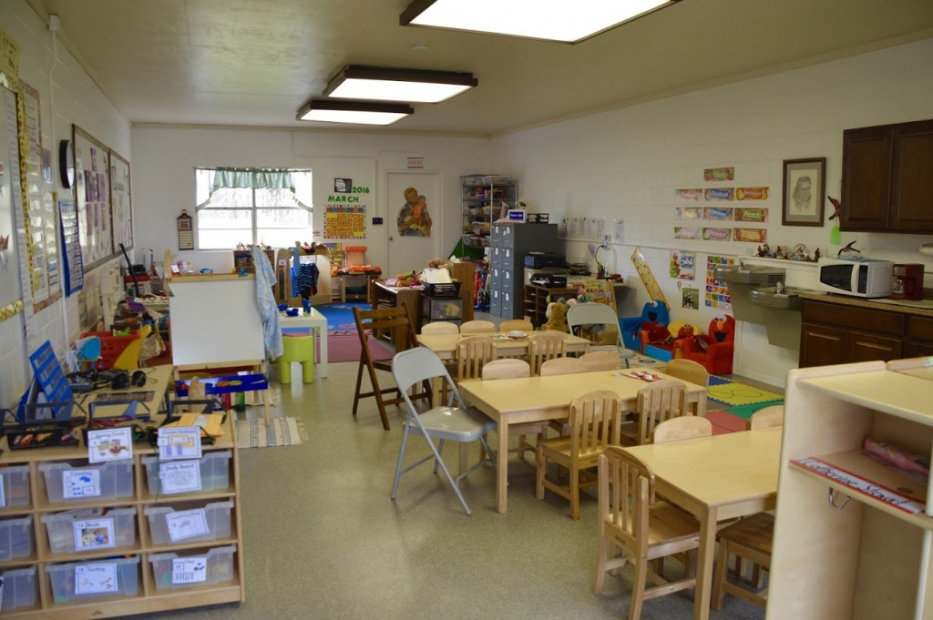 New Workshop Way Preschool next to the Belmead Mansion