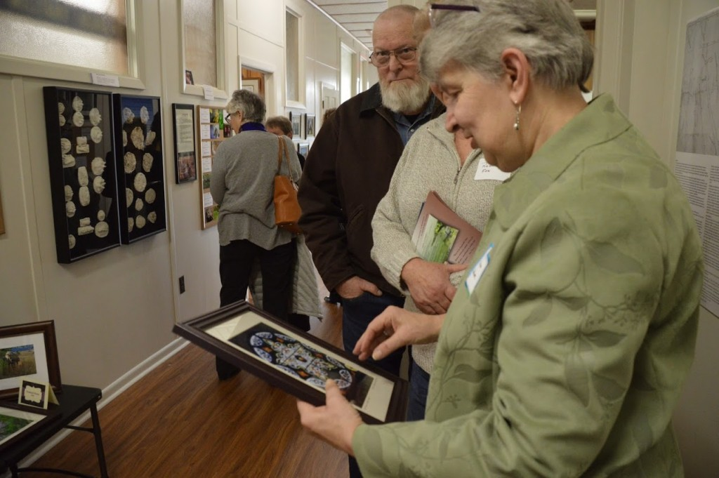 Sister Elena is a gifted photographer and sells photos, cards, and calendars of her nature & architecture photography on the sacred site. Here she explains that St. Katherine designed all the stained glass for St. Francis de Sales Church and had it made in Richmond.