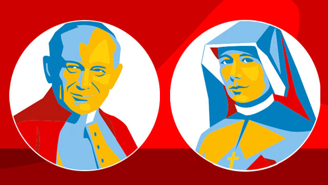 World Youth Day saints: St. John Paul II and St. Faustina
