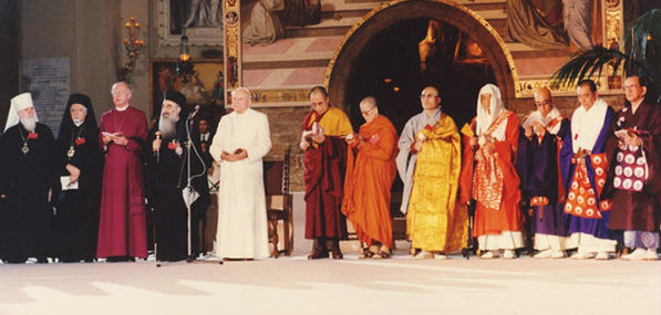 30th Anniversary since first World Day of Prayer for Peace started by St. John Paul II in Assisi, Italy