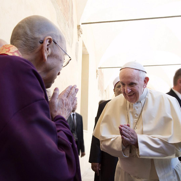 Pope Francis on Instagram: Peace is God's gift, and it lies with us to plead for it, embrace it, and build it every day with God's help. (Pope at World Day of Prayer for Peace in Assisi, Italy)