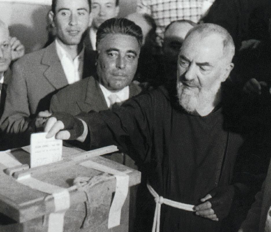 St. Padre Pio voting