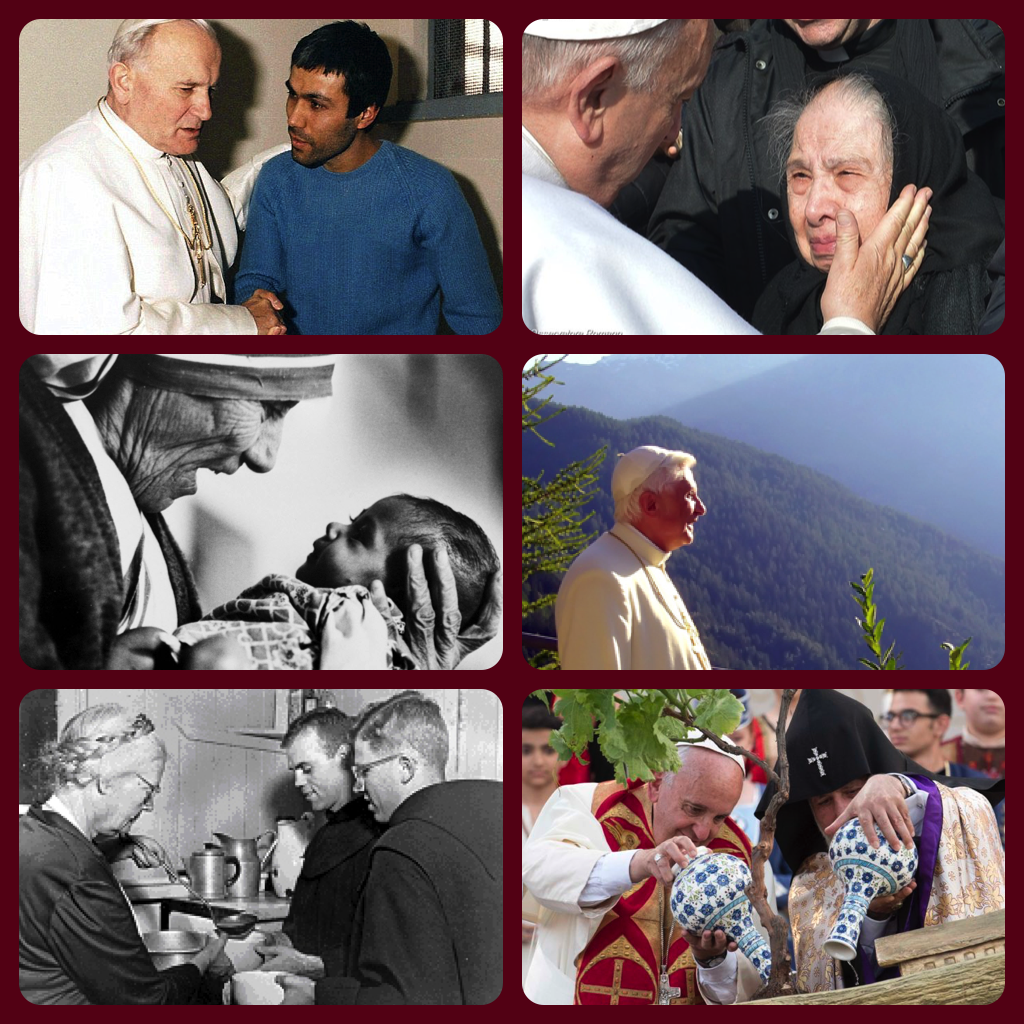 Examples of the Six Beatitudes for the Modern Era (by Pope Francis)